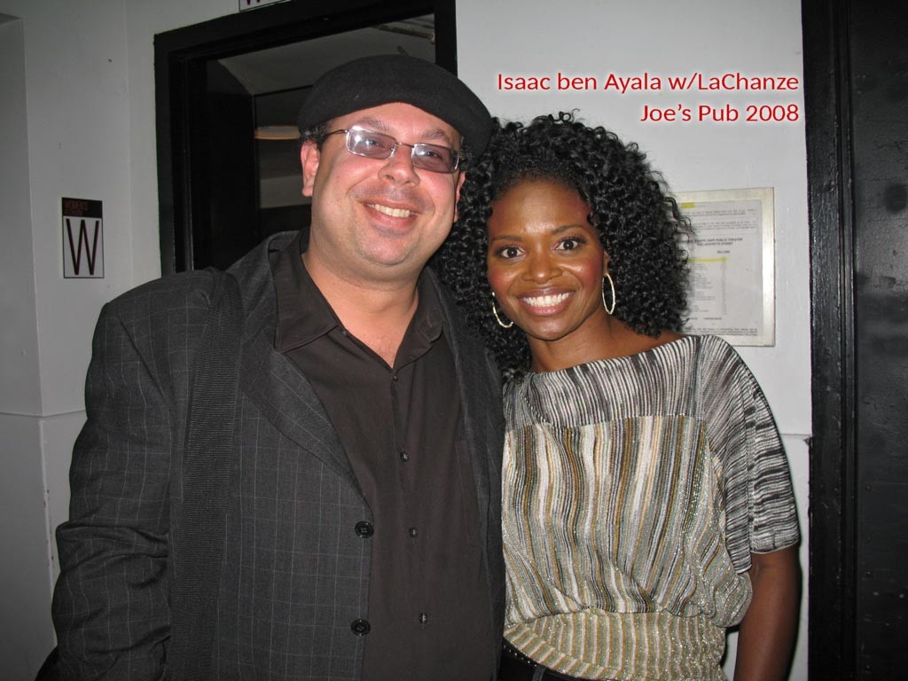 Isaac ben Ayala with LaChanze (2008)