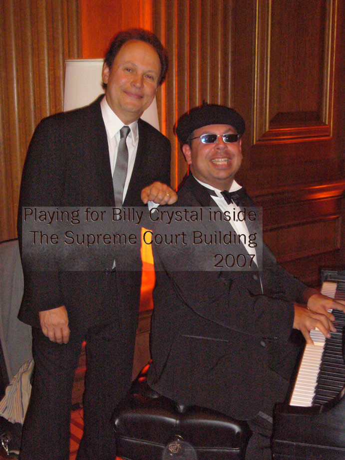 Isaac ben Ayala with Actor and Comedian Billy Crystal