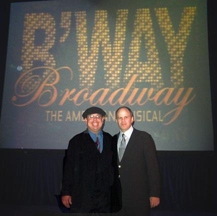Isaac ben Ayala and Film Maker Michael Kantor