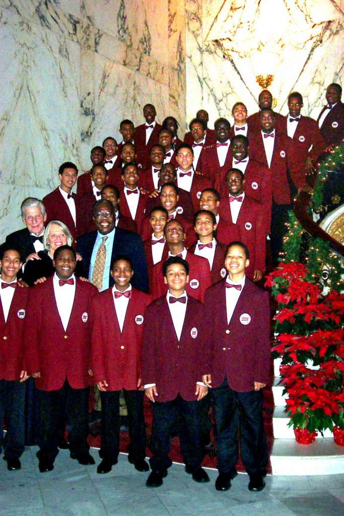 Boys Choir of Harlem Christmas Tour 2005 - IbA Pianist